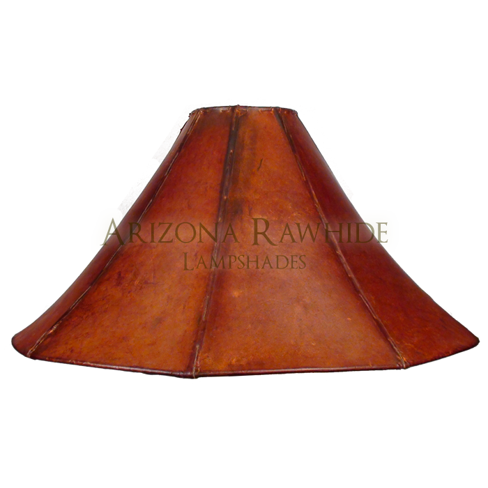 Extra large table lamp rawhide shade arizona rawhide leather xxl rawhide amber shade 13h x 26w 6w top aloadofball Images
