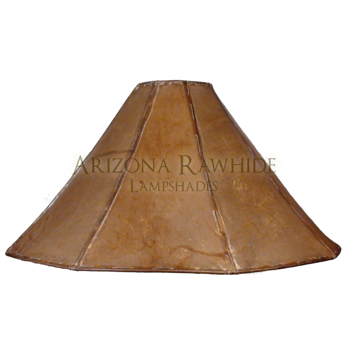 extra large table lamp rawhide shade arizona rawhide leather. Black Bedroom Furniture Sets. Home Design Ideas