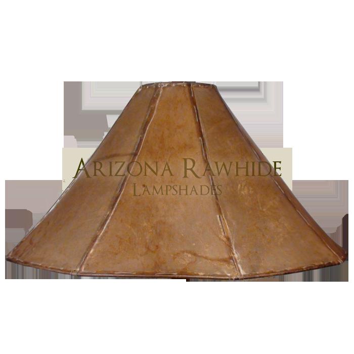 Extra Large Table Lamp Rawhide Shade Arizona Rawhide