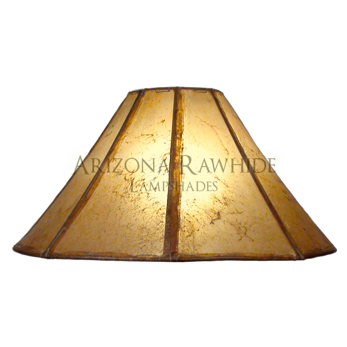 Table Lamp Rawhide Shade - Arizona Rawhide, leather lampshades for ...