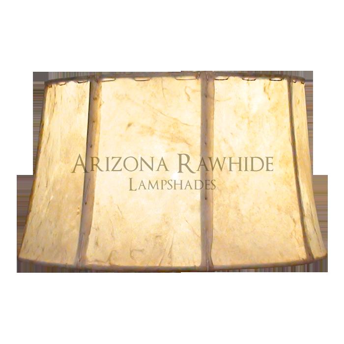 Barrel table lamp rawhide shade arizona rawhide leather brl13 barrel rawhide off white shade 7h x 13w aloadofball Gallery
