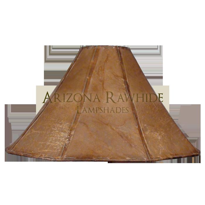 Xl Rawhide Natural Shade 12 H X 23 W 6 Top
